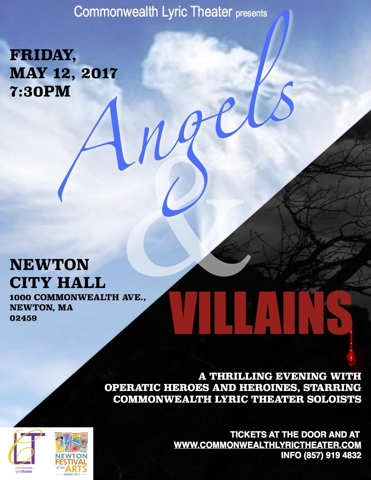 Angels & Villains Poster