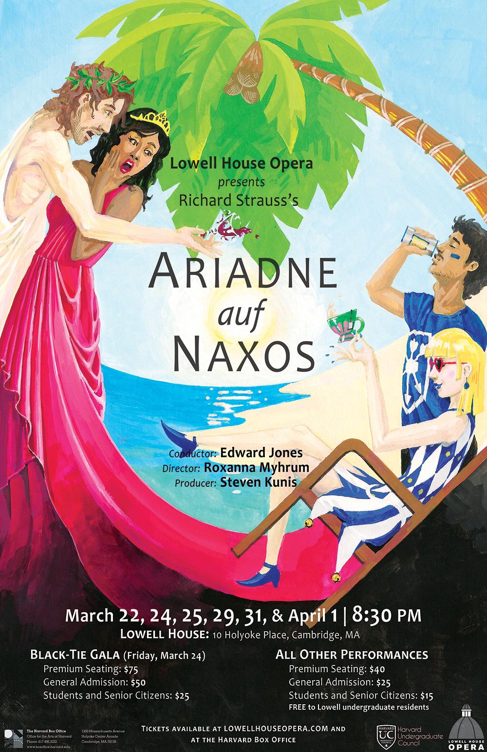 Lowell House, Ariadne auf Naxos